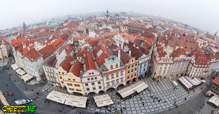 Old Town Square in Prague photo