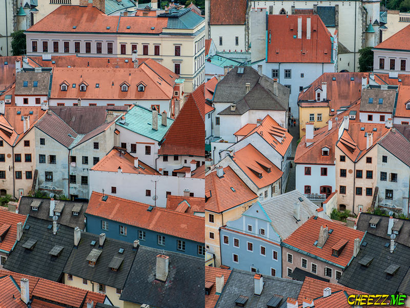 Red Roofs in Cesky Krumlov photo