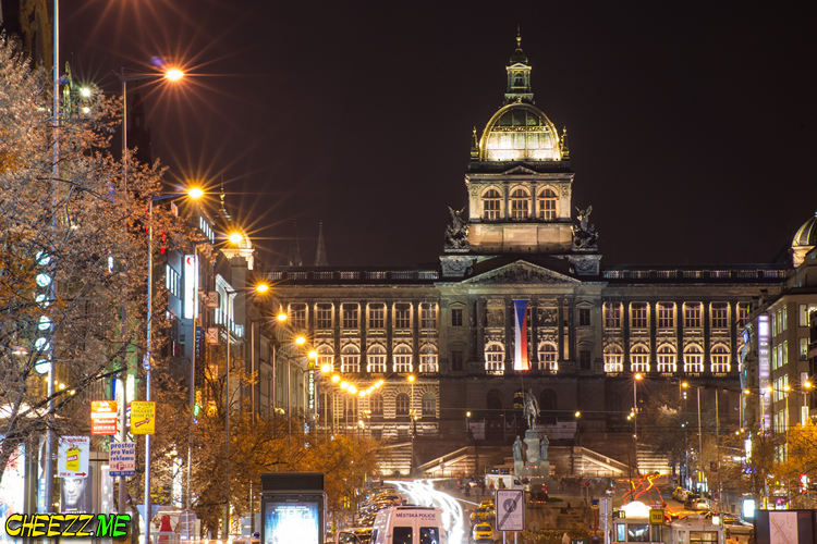 Wenceslas-Square-in-Prague-night-photo