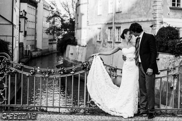 low cost wedding photographer in Prague