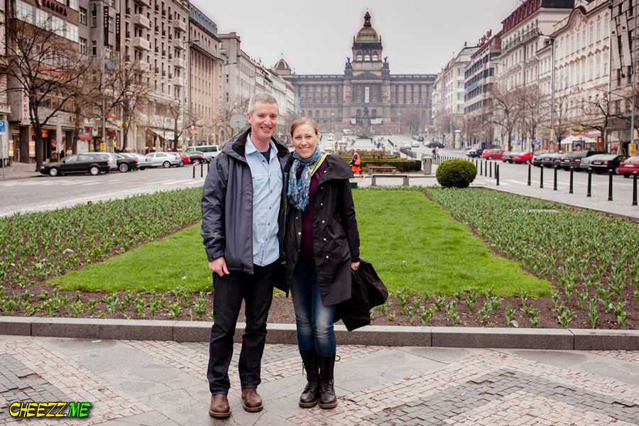 Wenceslas Square in Prague photo