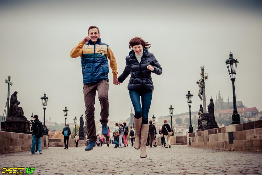Photo session in Prague