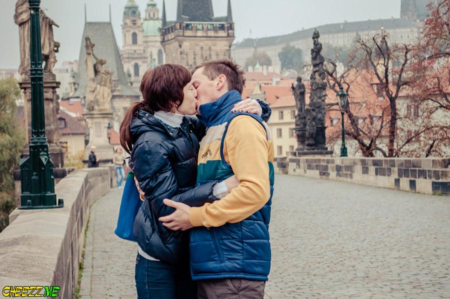 Romantic places in Prague