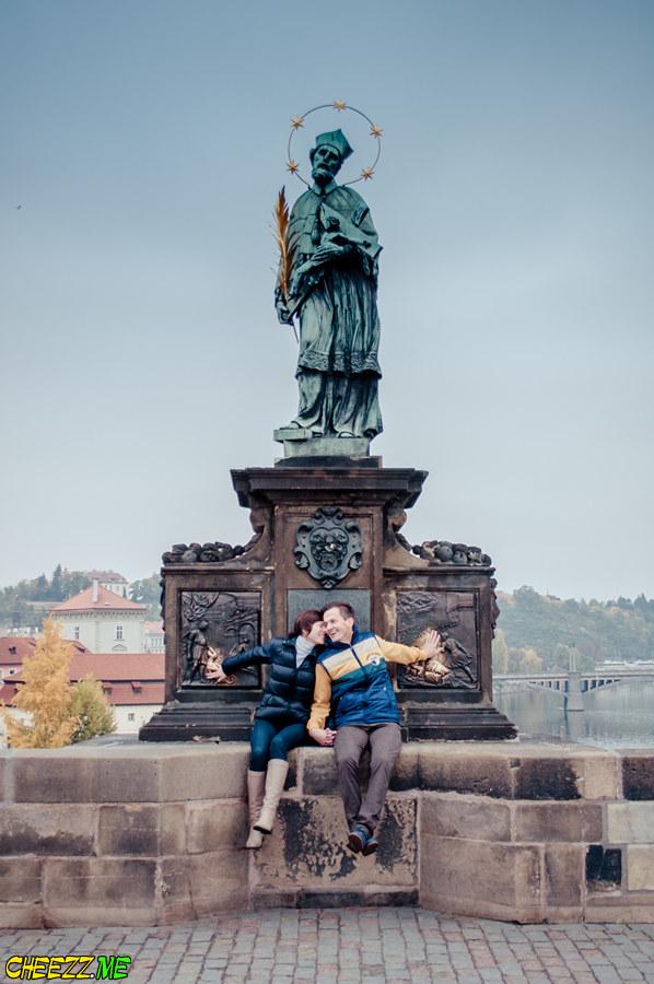 Photo session in Prague in Autumn