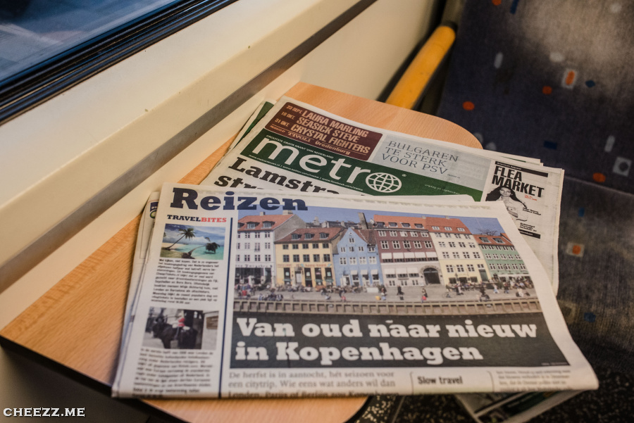 Train to Schiphol airport