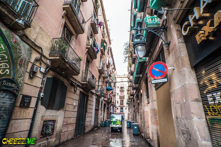 Улицы Барселоны фото