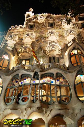 Дом Бальо в Барселоне фото