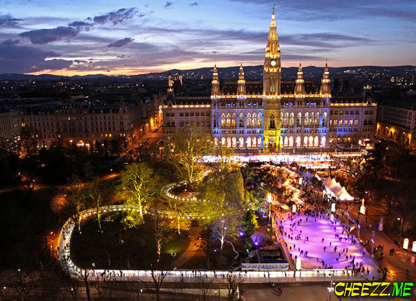 Ночная Вена рождество