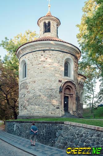 Достопримечательности Праги - крепость Вышеград