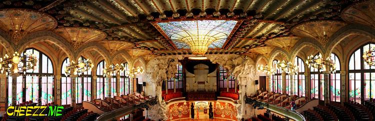 Дворец Каталонской музыки в Барселоне фото