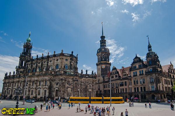 экскурсия в немецкий Дрезден  летом