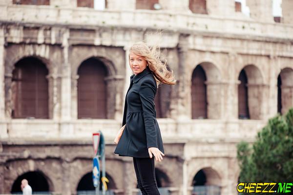 Экскурсия с фотографом в Риме - фотосессия у Колизея