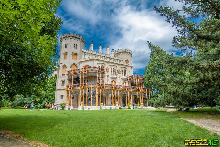 Экскурсия из Праги в замок Глубока над Влтавой