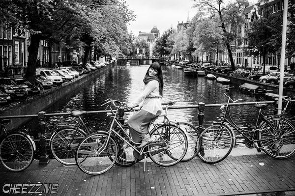 фотограф в Амстердаме -фотосессия у достопримечательностей