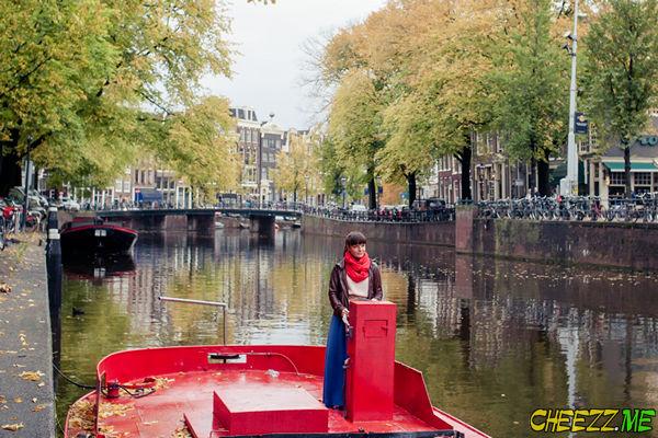 каналы Амстердама - фотосессия и экскурсия в столице Голландии