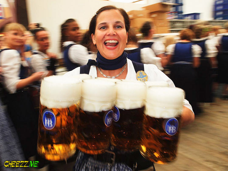 Октоберфест  2013- настоящее немецкое пиво