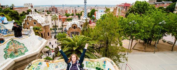 Экскурсия в Барселоне - парк Гуэля фото