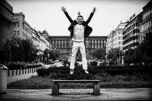 фотосессия  у достопримечательностей Праги на пленку
