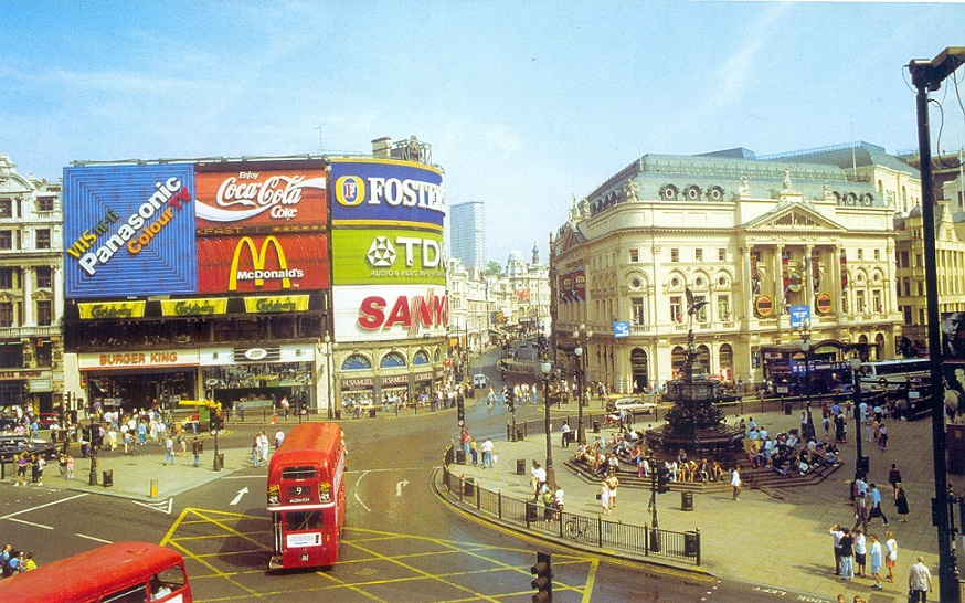Пикадили Лондон Фото