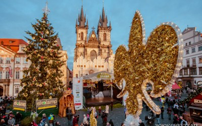 рождество в Праге на староместкой площади