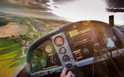полеты над Чехией на самолете
