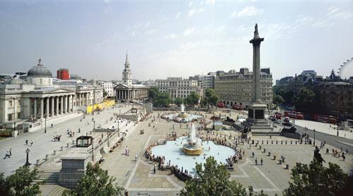 Трафальгарская площадь в Лондоне экскурсия и фото