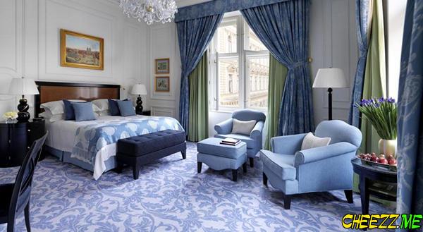 Four Seasons роскошный отель в Праге