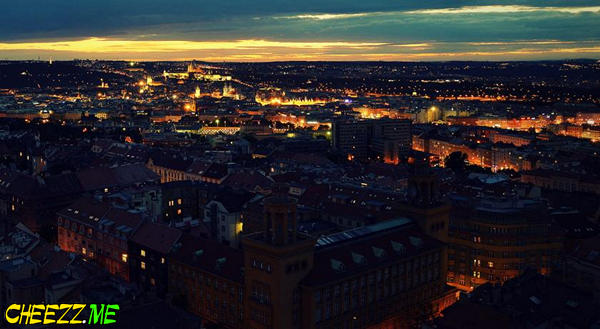 One Room Hotel панорама Праги как на ладони