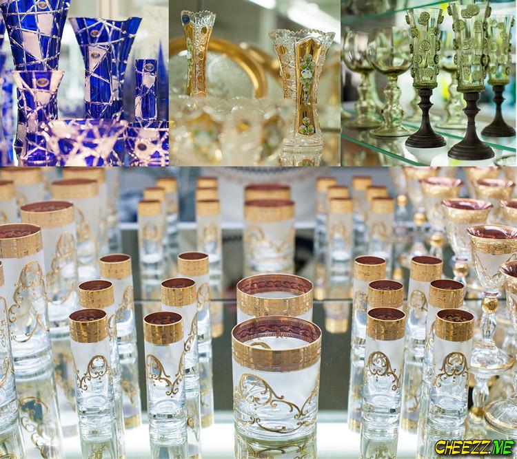Чешский хрусталь и чешское стекло посуда люстры