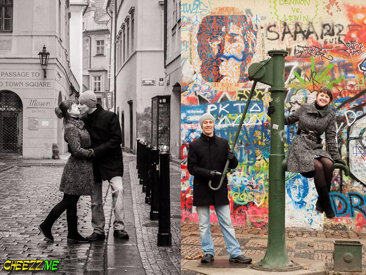 Фотосессия в Праге -на годовщину свадьбы