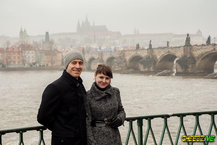 Фотосессия в Праге - Карлов Мост