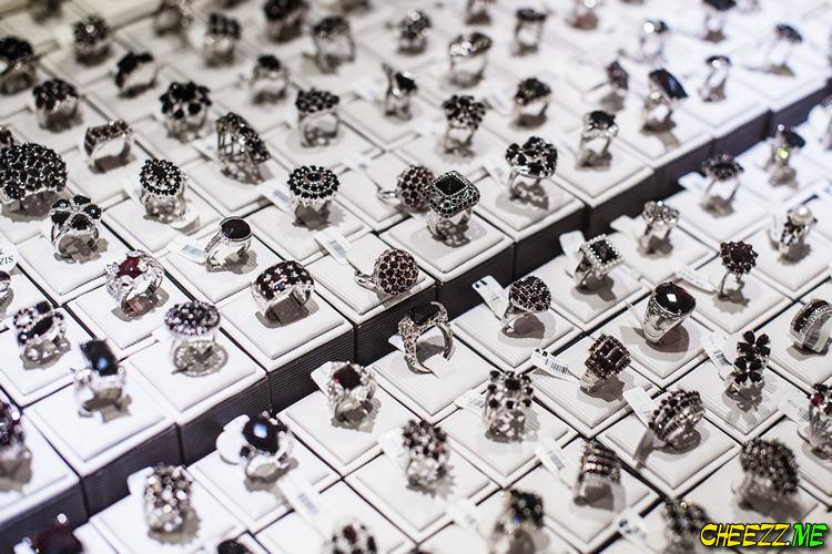 Ювелирные изделия из Чешского граната кольца браслеты