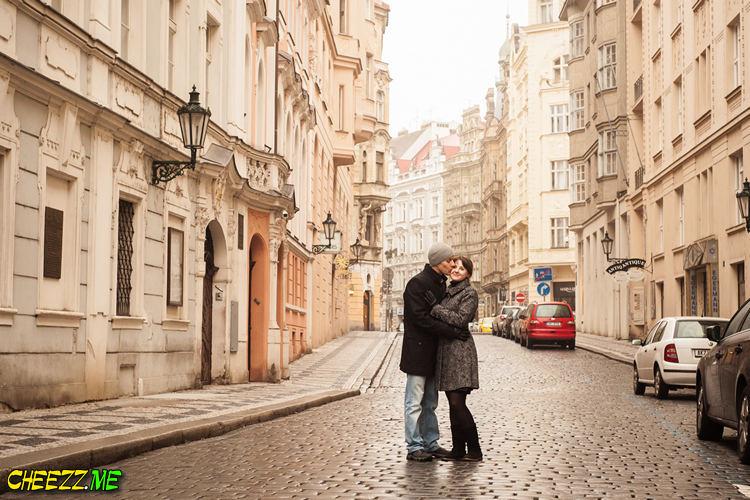 Годовщина свадьбы в Праге