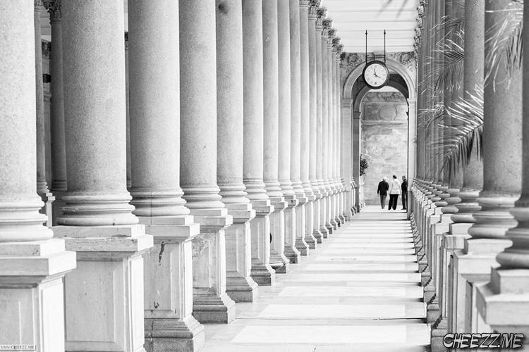 Карловы Вары колоннада фото