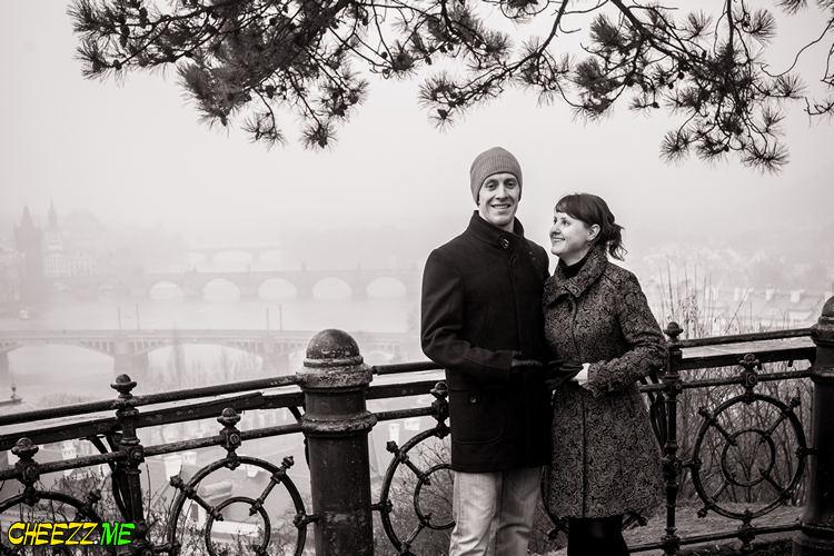 Love Story фотосессия в Праге