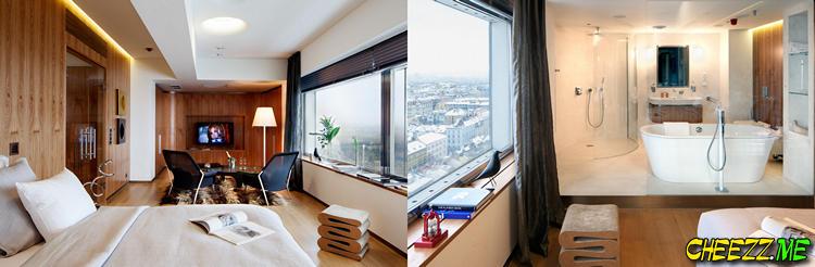 Необычный отель в Праге One room hotel
