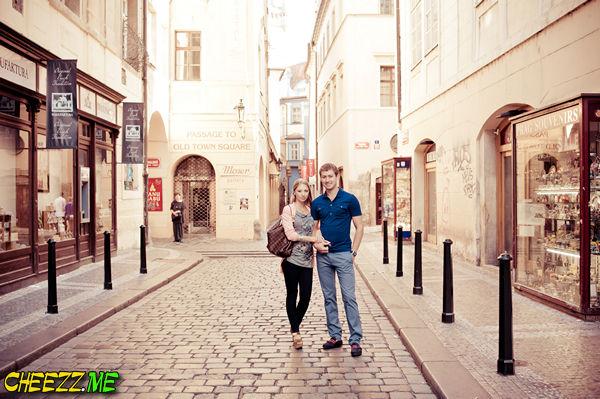 Красивые улочки Праги - фотосессия в Чехии