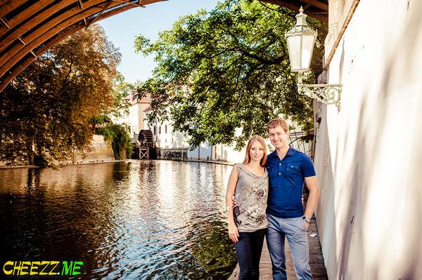 Кампа - под Карловым мостом в Праге