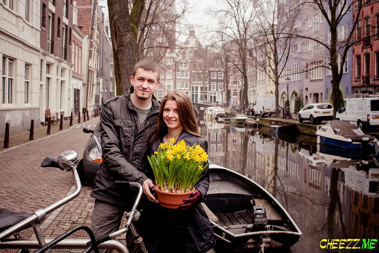 Фотосессия в Амстердаме