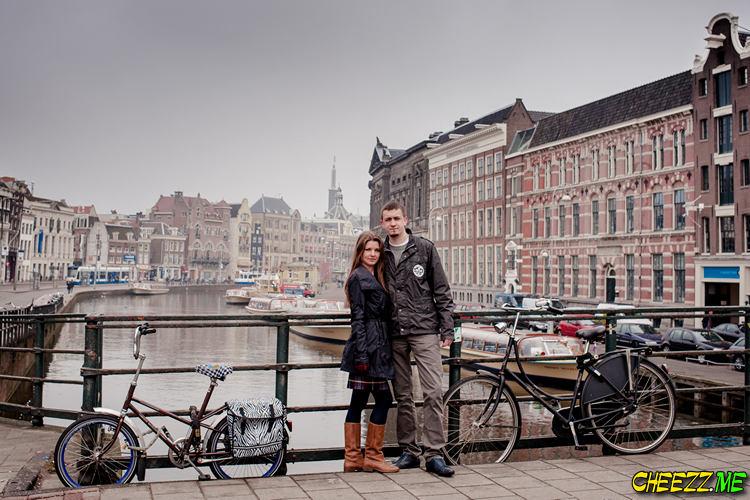 Экскурсия достопримечательности Амстердама с фотографом