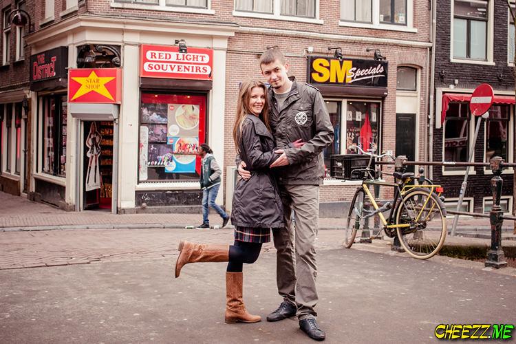 Экскурсия в Амстердаме - квартал красных фонарей