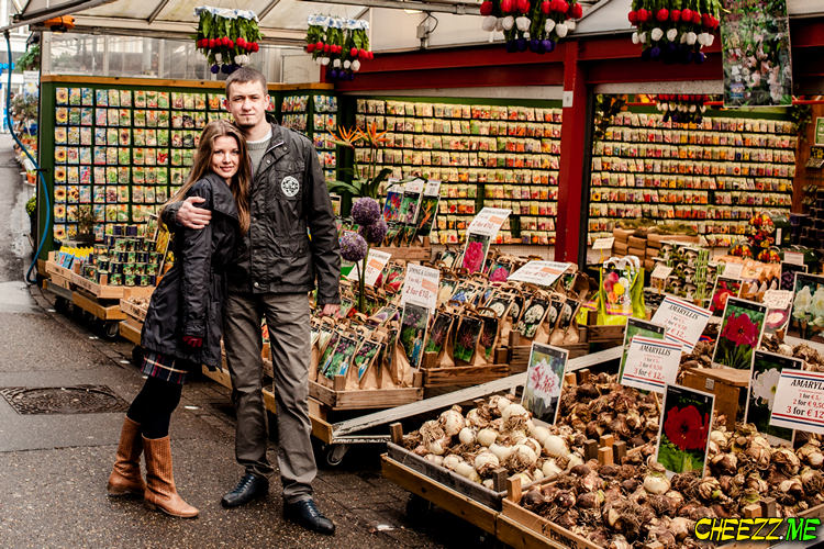 Индивидуальная экскурсия с фотографом в Амстердаме