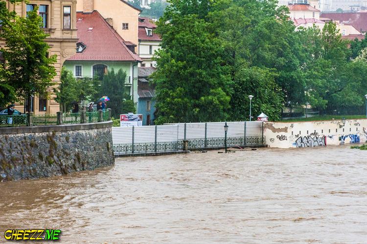 Стихия в Чехии 2013