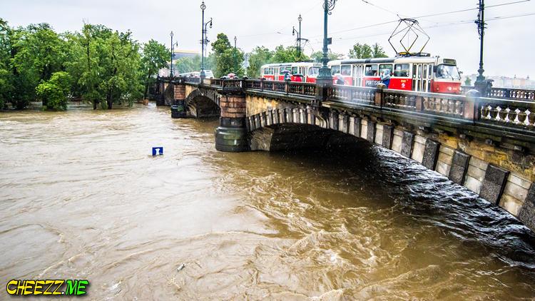 Прага июнь 2013 паводок