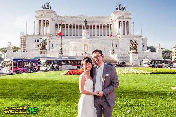 Алтарь Отечества фотосессия в Риме