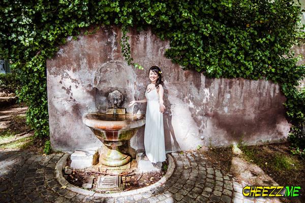 Фонтанелло - фотосессия в Риме , свадебный фотограф в Италии