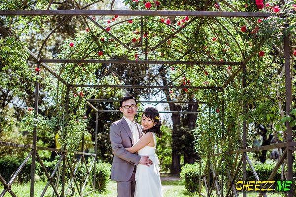 Фотосессия в Риме - свадьба фотограф в Италии