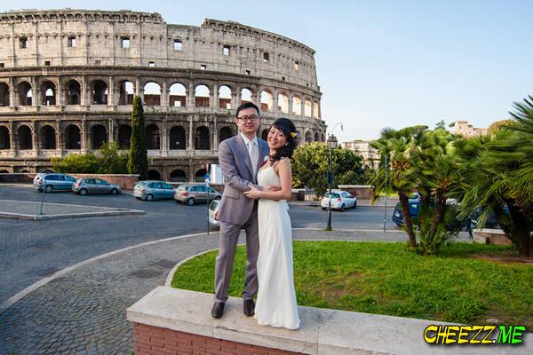 Колизей - фотосессия в Риме, свадьба, фотограф в Италии