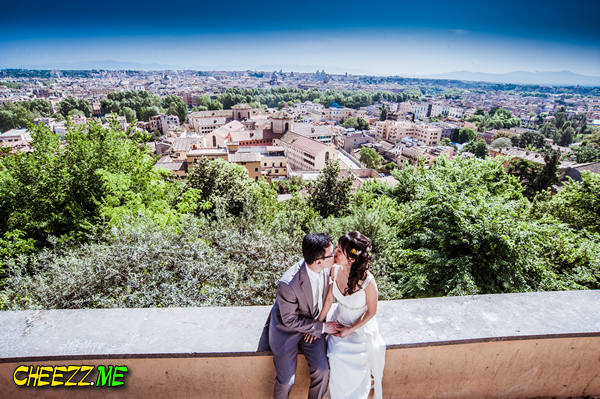 Панорама Рима - фотосессия в Италии