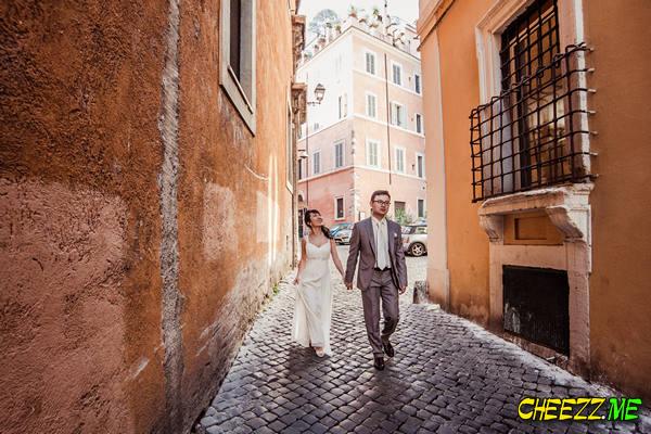 Прогулка и фотосессия в Риме - свадебный фотограф в Италии